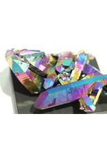 Rainbow Aura Quartz (Titanium) Specimen