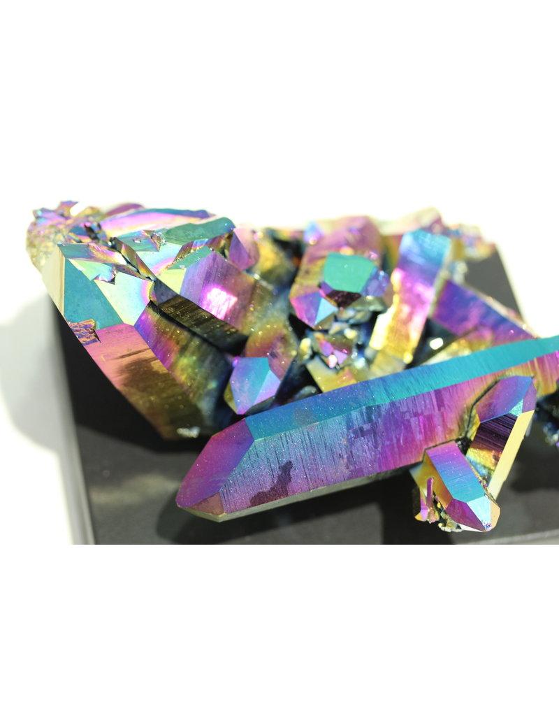 Rainbow Aura Quartz