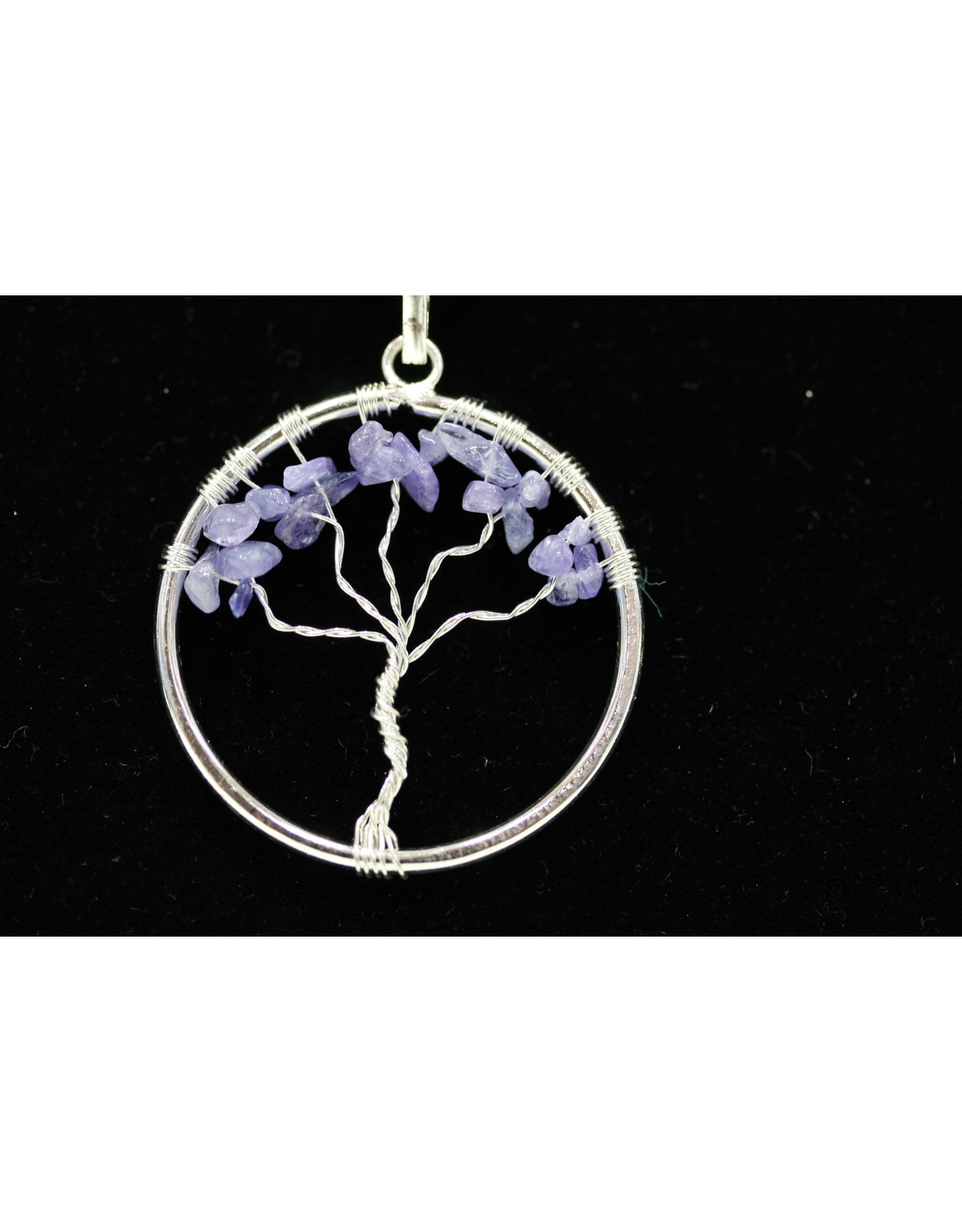 Tanzanite Tree Of Life Pendant