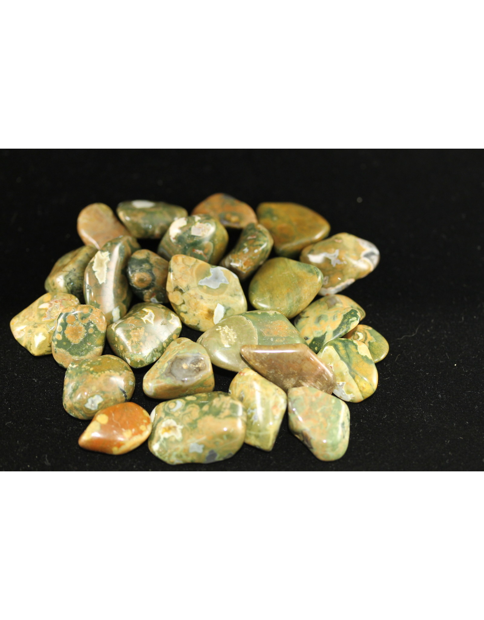 Tumbled Rainforest Jasper
