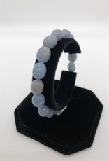 Premium Gemstone Bracelet - Angelite
