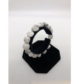 Tumbled Gemstone Bracelet Howlite