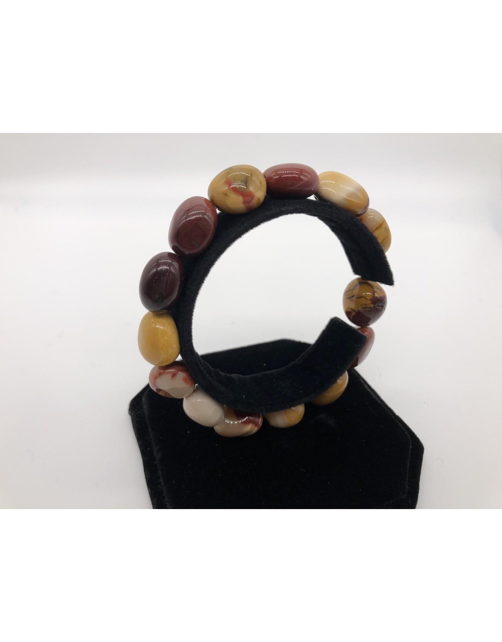 Mookaite Tumbled Gemstone Bracelet