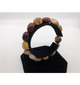Tumbled Gemstone Bracelet Mookaite