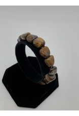 Tiger Eye Tumbled Gemstone Bracelet