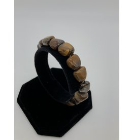 Tumbled Gemstone Bracelet Tiger Eye