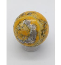 Bumblebee Jasper Sphere (Mount Papandayan, West Java, Indonesia)