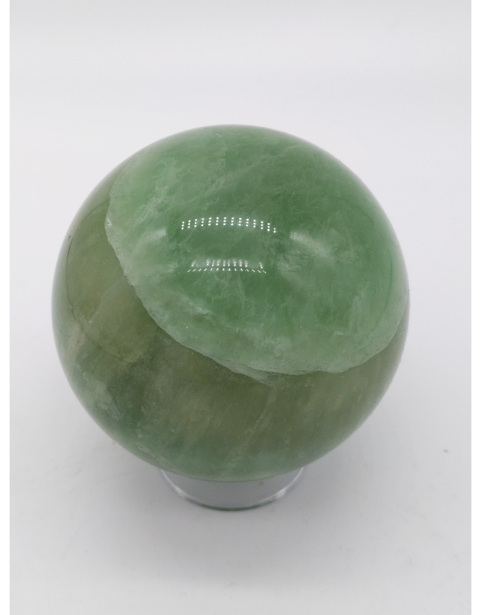 Green Fluorite Sphere (Madagascar)