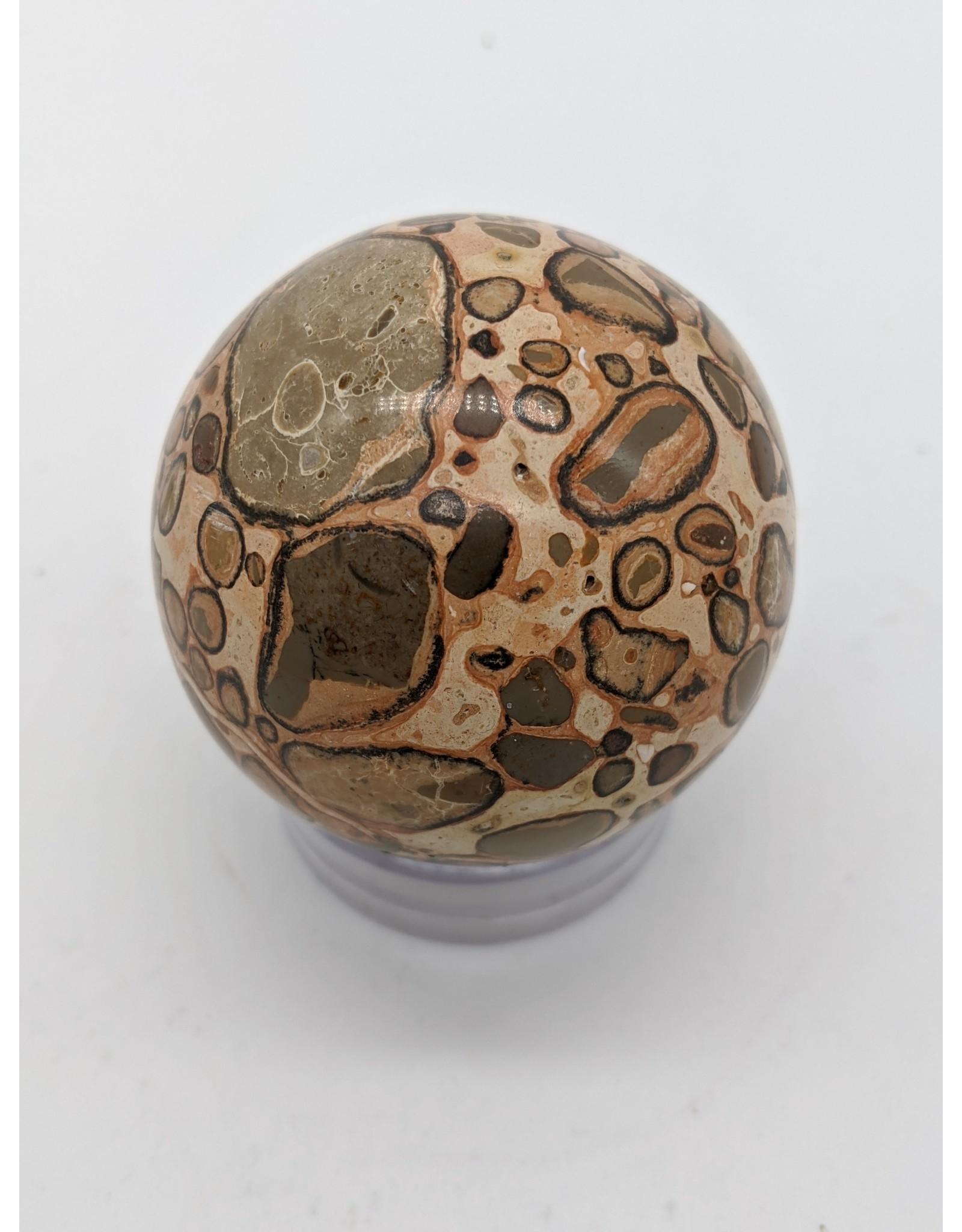 Leopard Jasper Sphere 60mm
