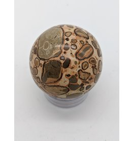 Leopard Jasper Sphere 60mm