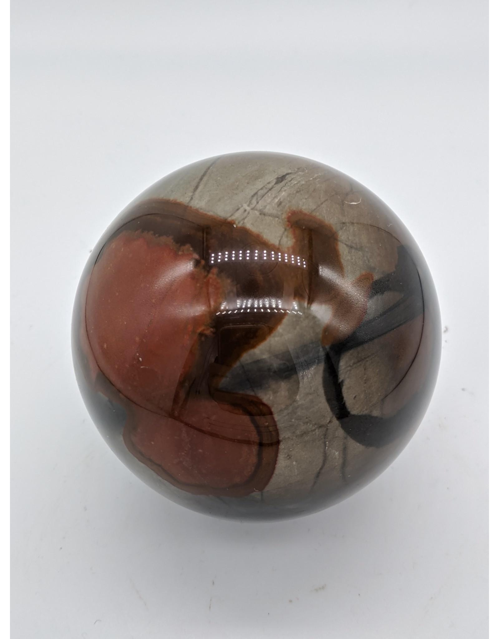 Polychrome Jasper Sphere (Madagascar)