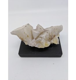 "Calcite ""Frosted"" Yellow Fluorite (Harding County, Illinois)"