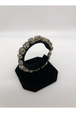 Dalmation Jasper Tumbled Gemstone Bracelet