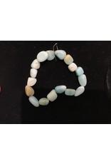 Amazonite Tumbled Gemstone Bracelet