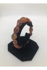 Carnelian Tumbled Gemstone Bracelet