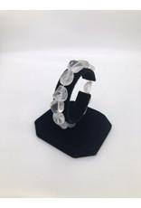 Clear Quartz Tumbled Gemstone Bracelet