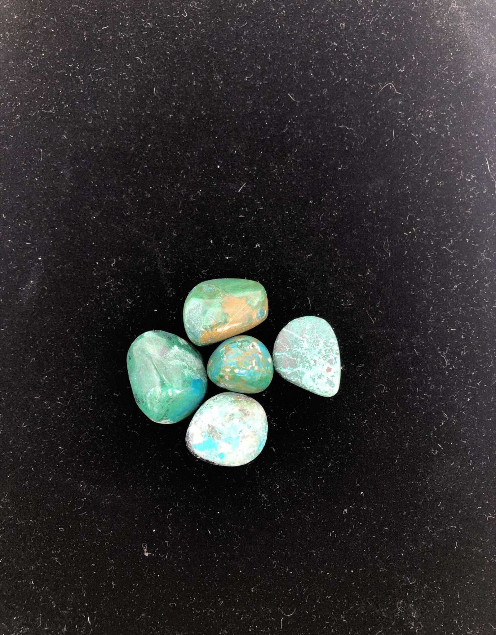 Tumbled Chrysocolla