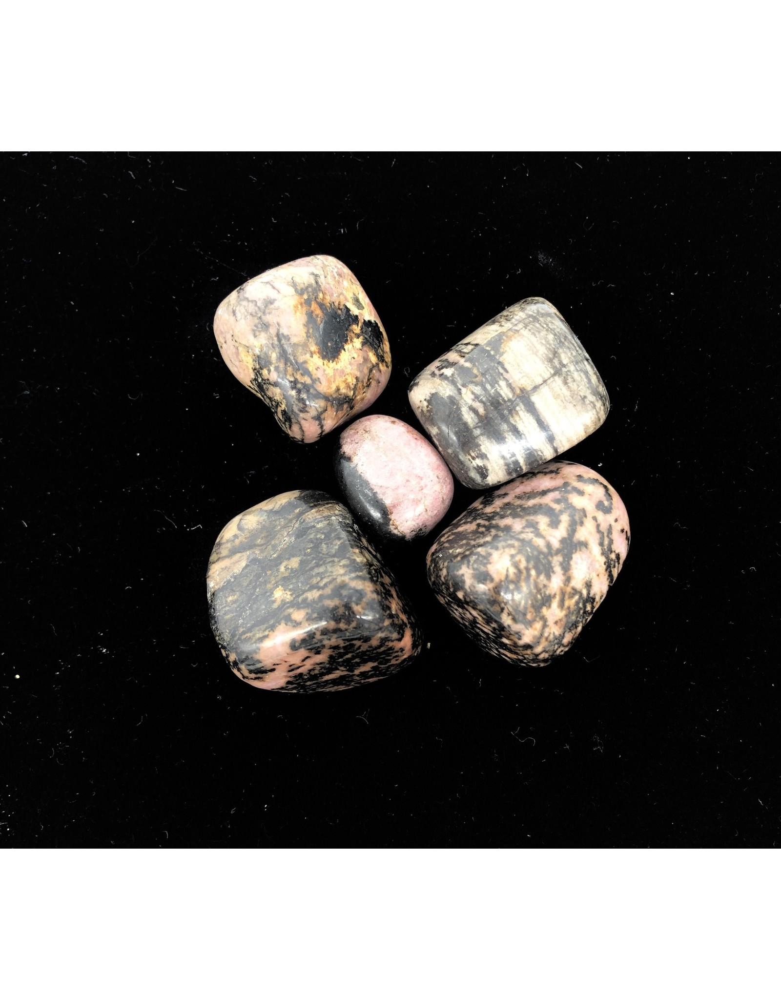 Tumbled Rhodonite LG Grade A