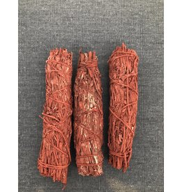 "Red Smudge Sage 3-4"""