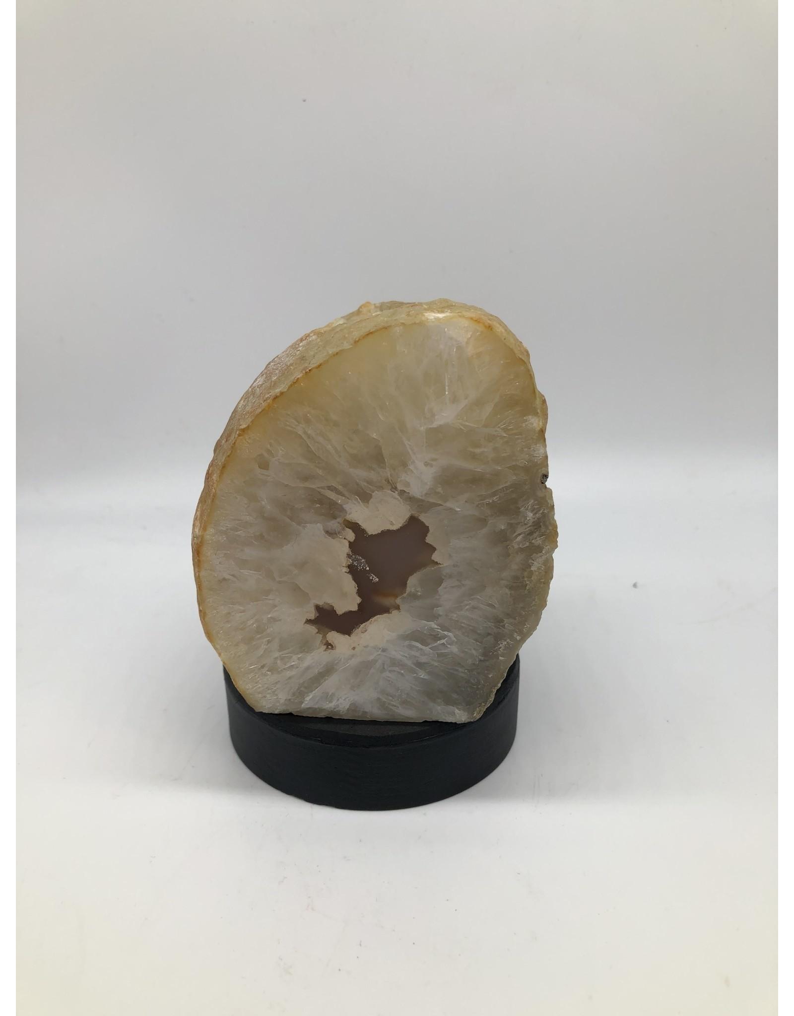 Agate Geode Tea Light Holder