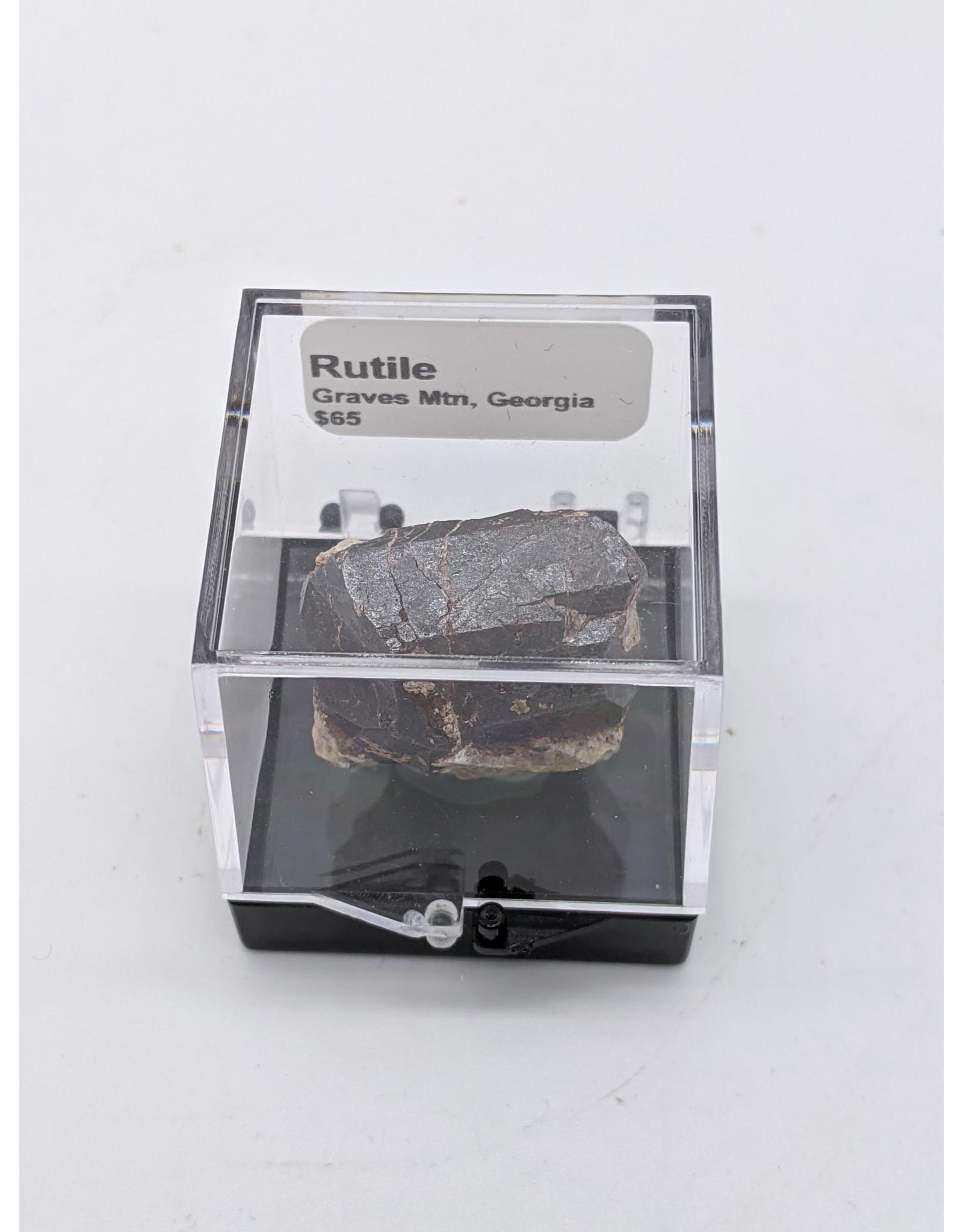 Rutile Specimen in Perky Box