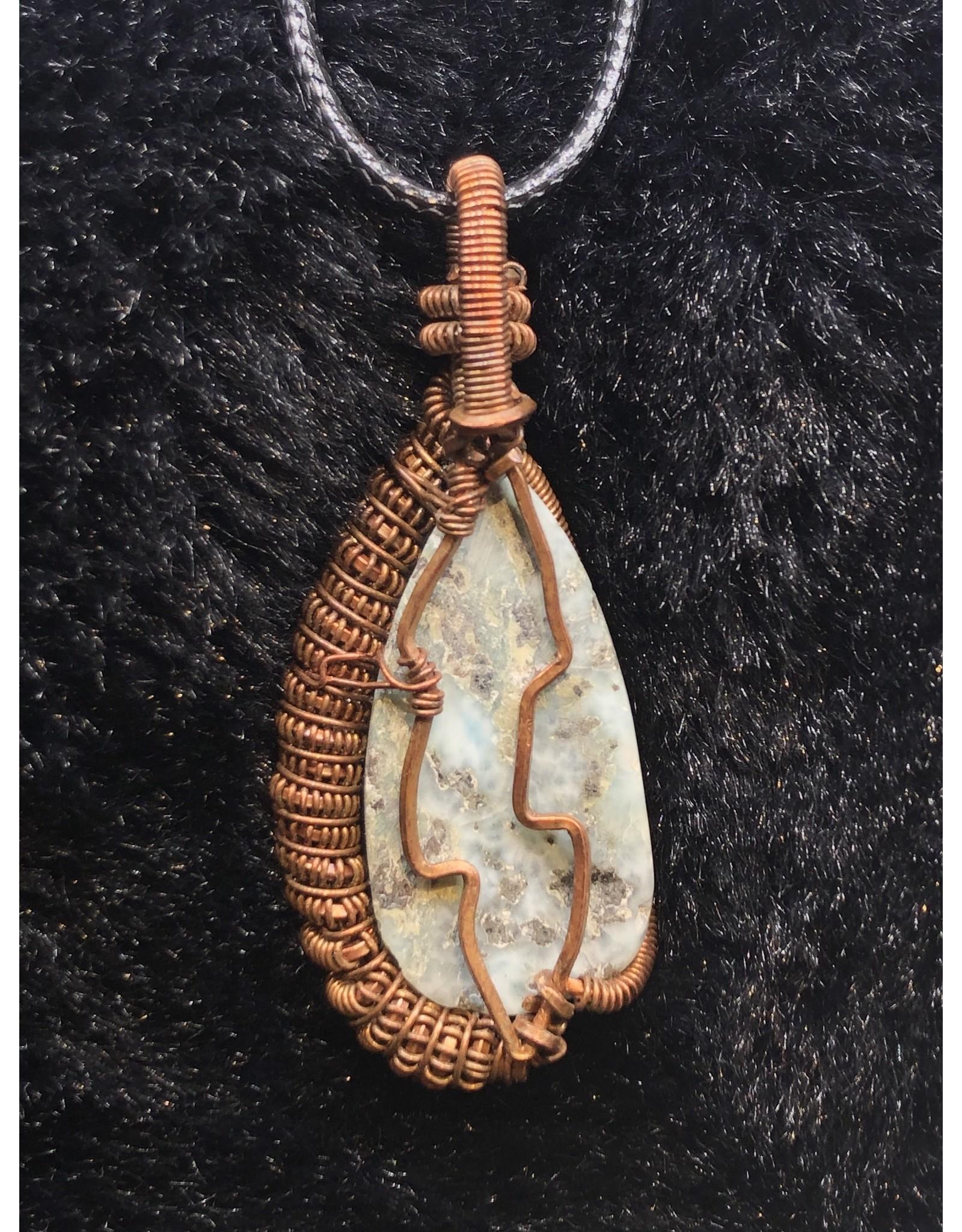 Larimar Coil in Copper - W.W.