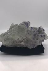 Cubic/Octohedral Fluorite with Purple Corners - Xianghualing Mine,Chengzhou, Hunan, China