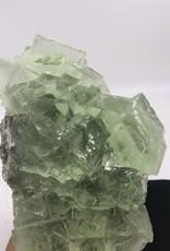 """""""Water Clear"""" Green Fluorite - Xianghualing Mine, Chengzhou, Hanan, China"""