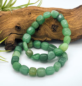 Green Aventurine Tumbled Gemstone Bracelet