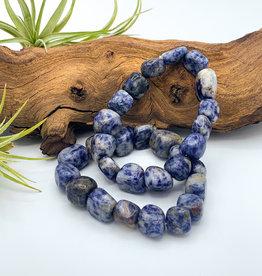 Sodalite Tumbled Gemstone Bracelet