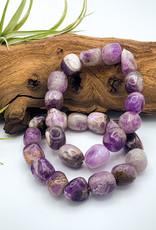 Amethyst Tumbled Gemstone Bracelet
