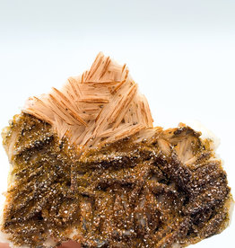 Druzy Vanadinite on Barite (Morocco)