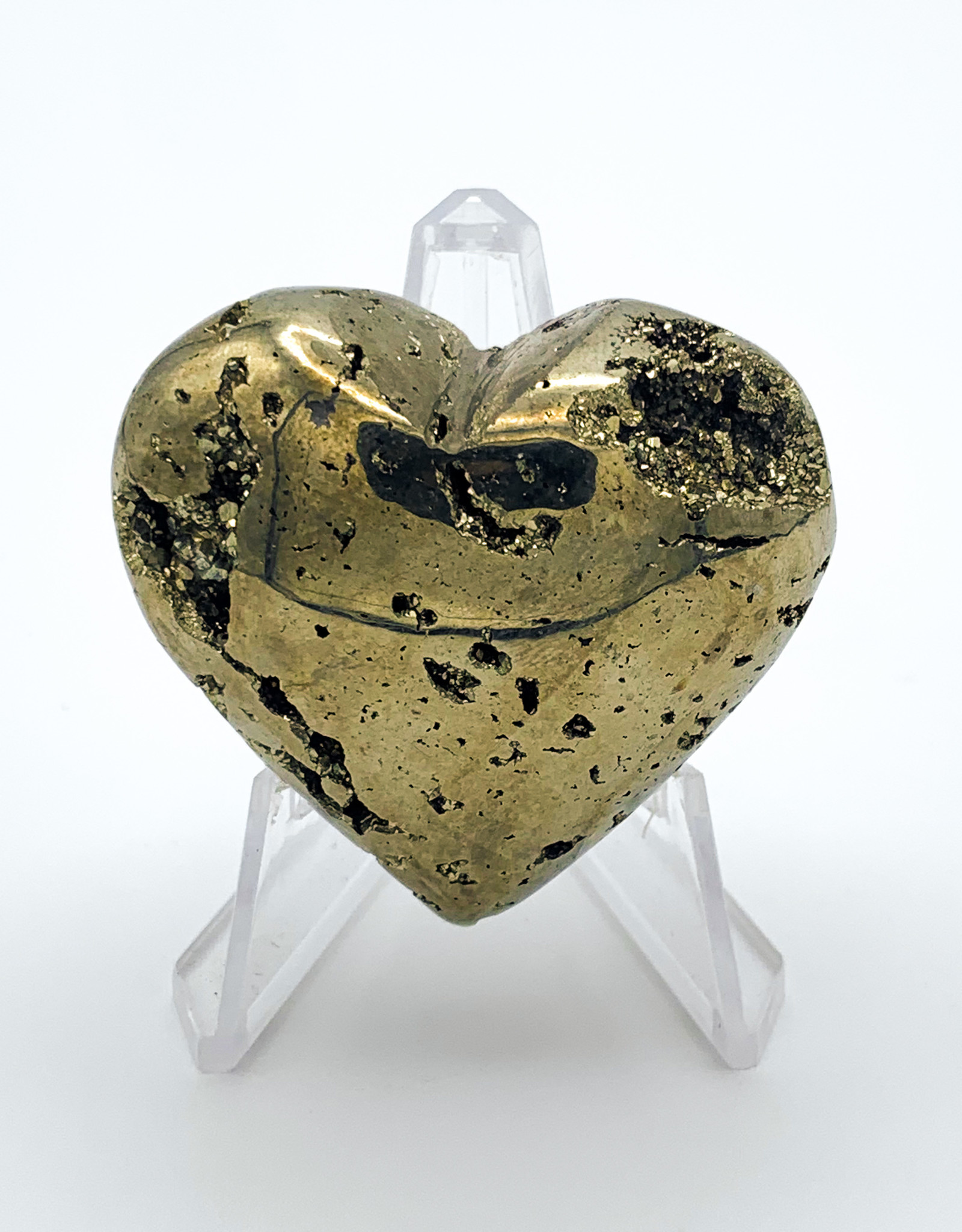 Large Pyrite Heart