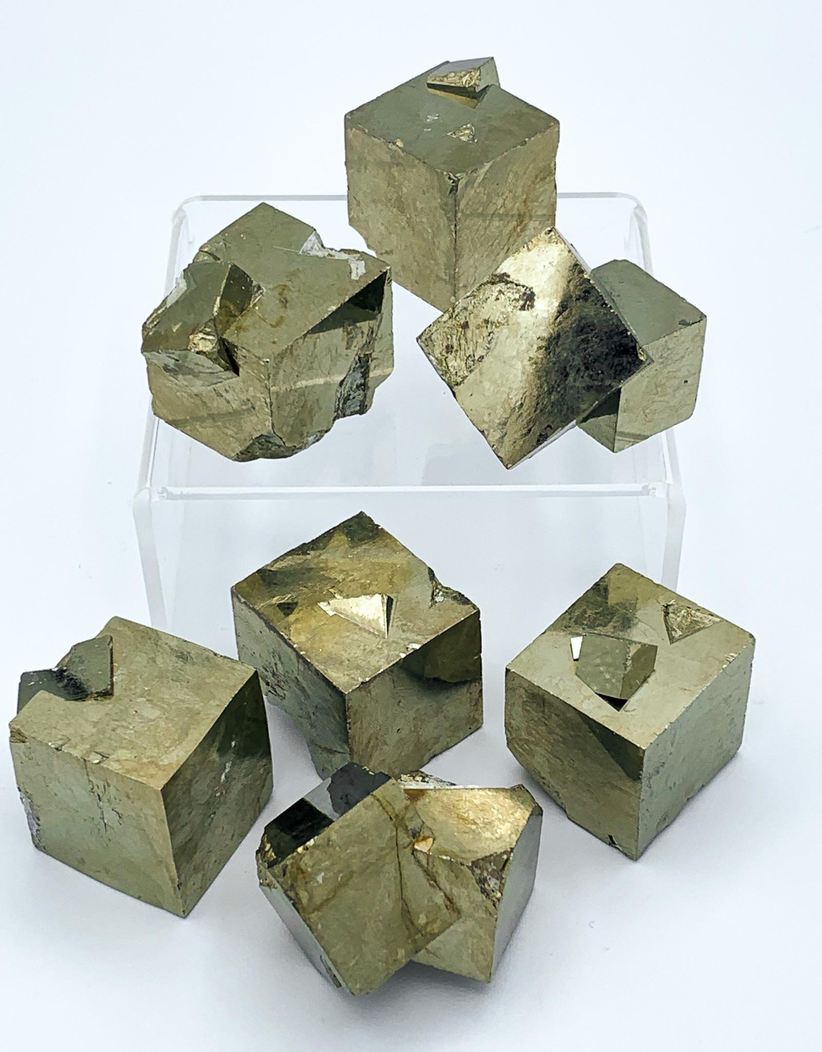 Cubic Pyrite - Navajún, Spain
