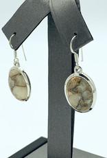 Copper Calcite Earrings
