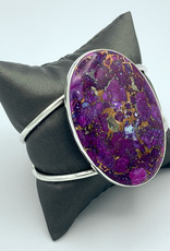 Mojave Purple/Copper Turquoise Cuff