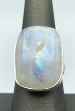 Rainbow Moonstone Ring (Adjustable)
