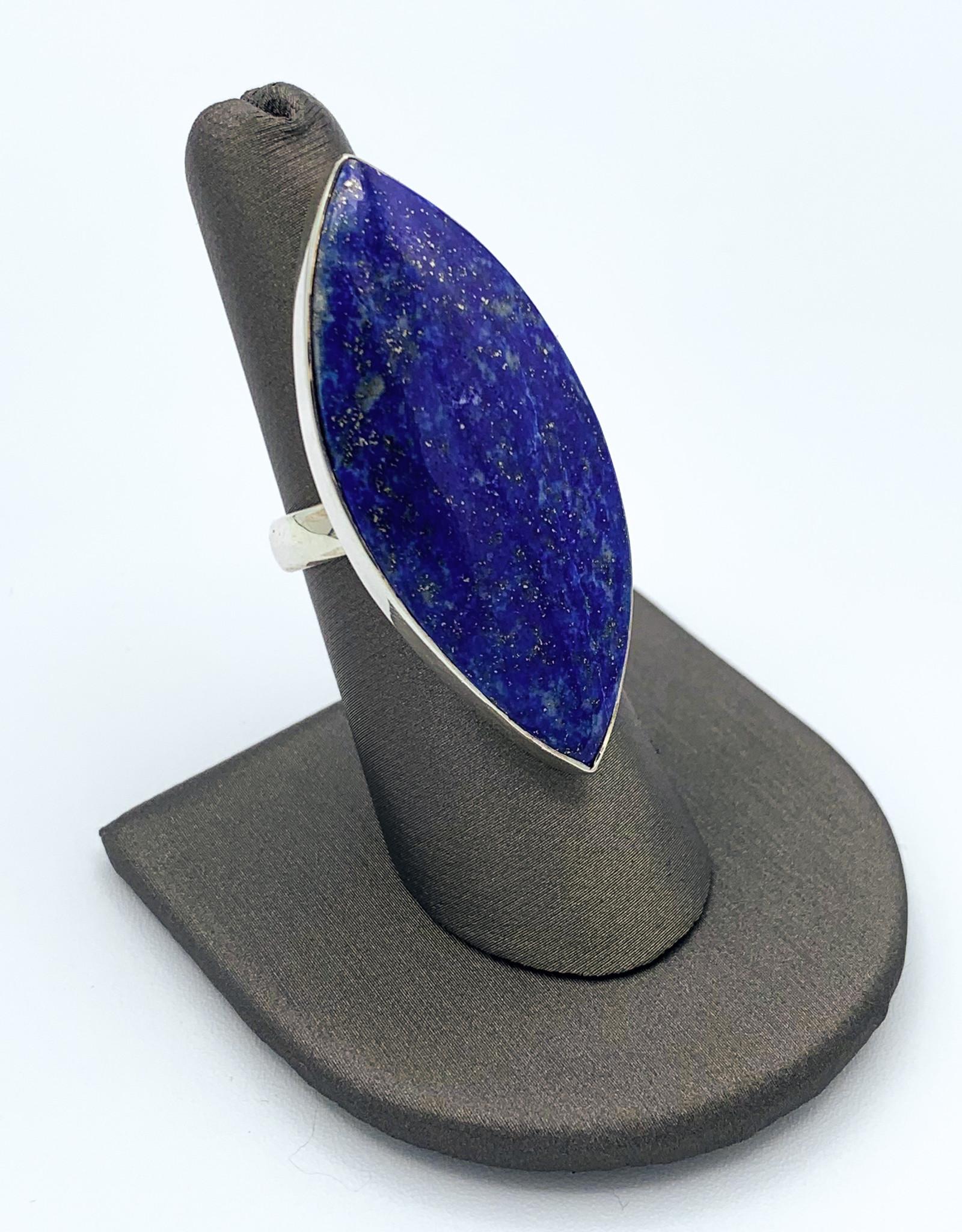 Lapis Lazuli Ring (Adjustable)