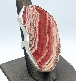 Rhodochrosite Ring (Adjustable)