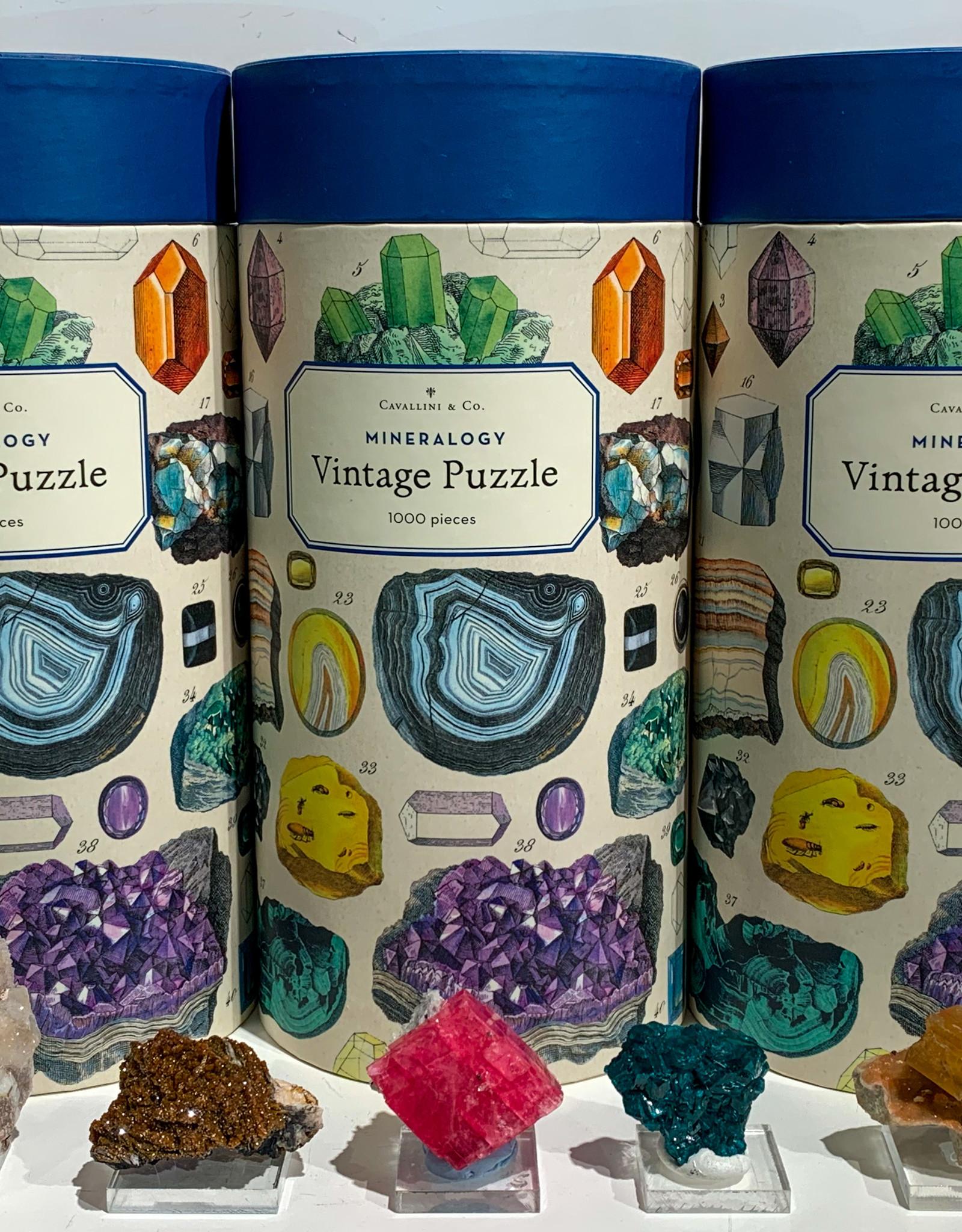 Mineralogy  1000 Piece Puzzle
