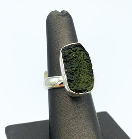 Moldavite Ring - Adjustable