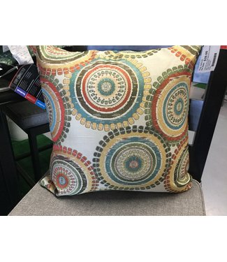 COASTER THROW PILLOW MEDALLION MULTI-COLOR