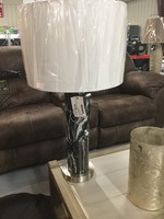 ASHLEY L243204 TABLE LAMP MARICELA BLACK/WHITE