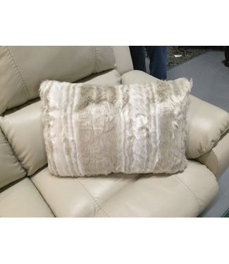 ASHLEY A1000226 THROW PILLOW AMORET TAN/CREAM