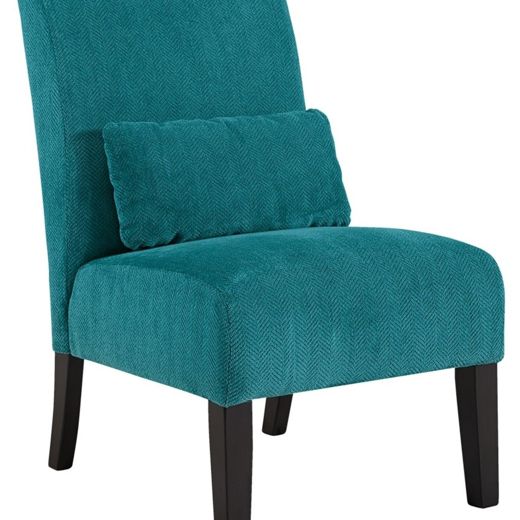 ASHLEY ACCENT CHAIR ANNORA TEAL