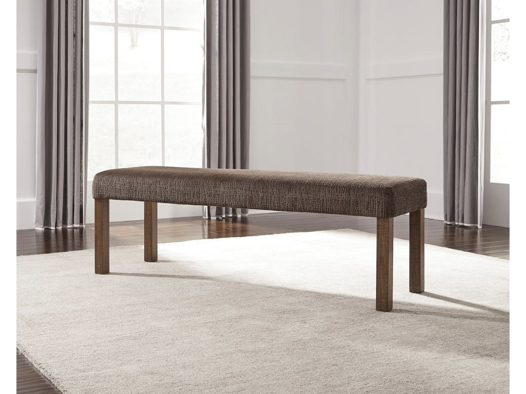 D714-00 BENCH UPH TAMILO BROWN