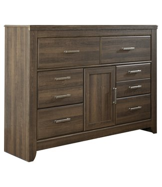 ASHLEY JUARARO 6 DRAWER DRESSER WITH 1 CABINET