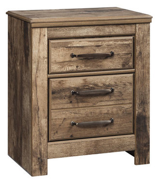 ASHLEY B224-92 NIGHTSTAND BLANEVILLE BURNISHED BROWN