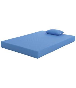 ASHLEY BEDDING M72121  4/6 FULL MATTRESS/PILLOW COMBO IKIDZ BLUE