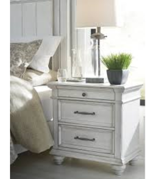 ASHLEY NIGHTSTAND KANWYN WHITEWASH